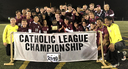 Cub Soccer captures third Catholic High School League Title!